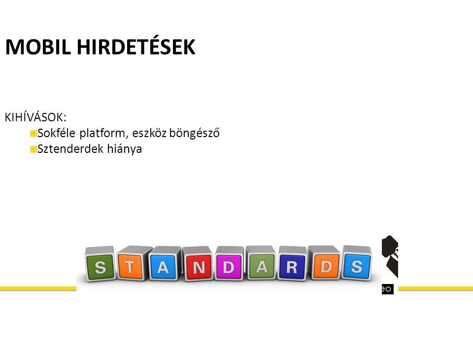 MOBIL HIRDETÉSEK KIHÍVÁSOK: Sokféle platform, eszköz böngésző