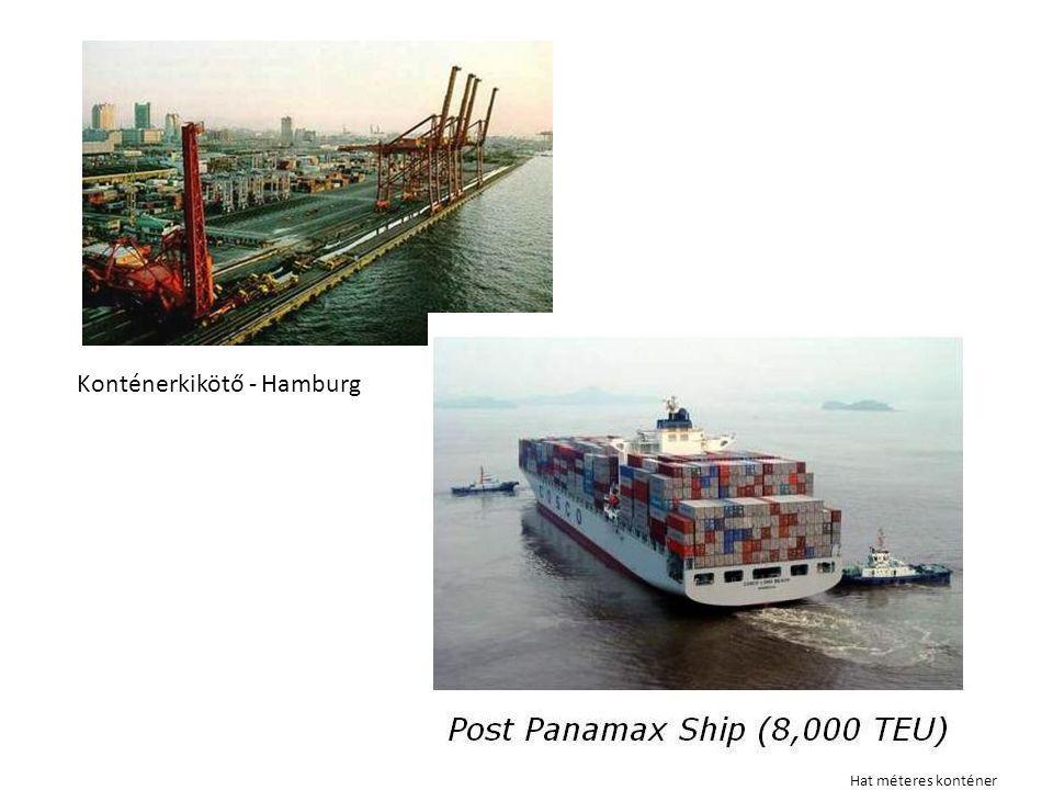 Konténerkikötő - Hamburg