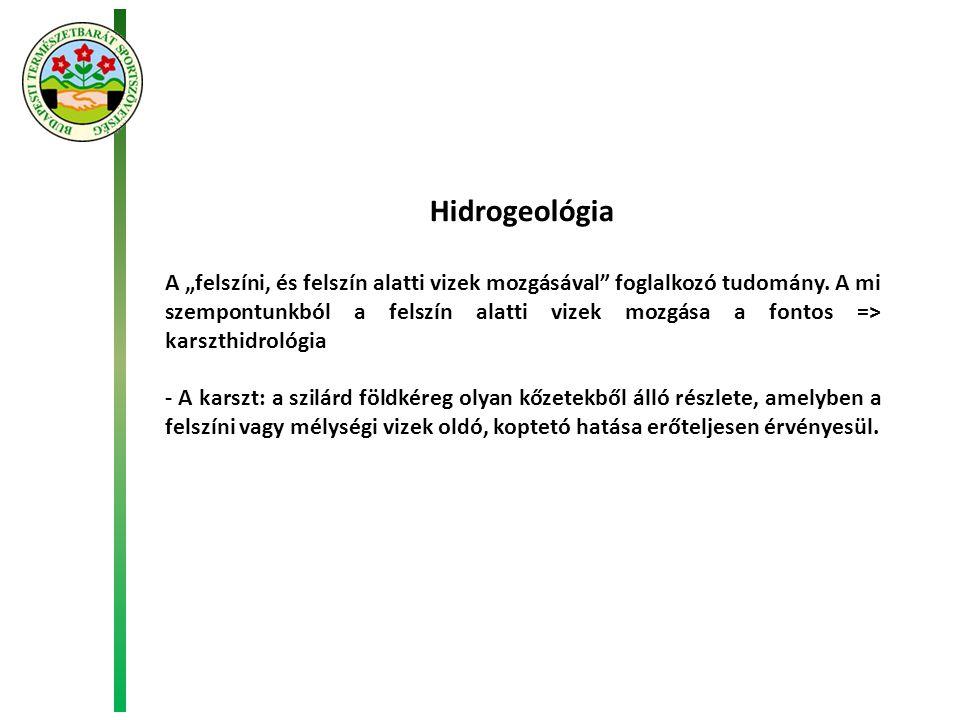 Hidrogeológia