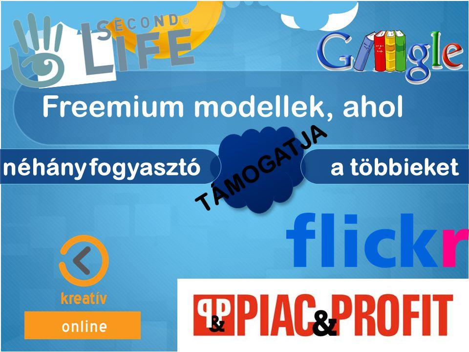 Freemium modellek, ahol