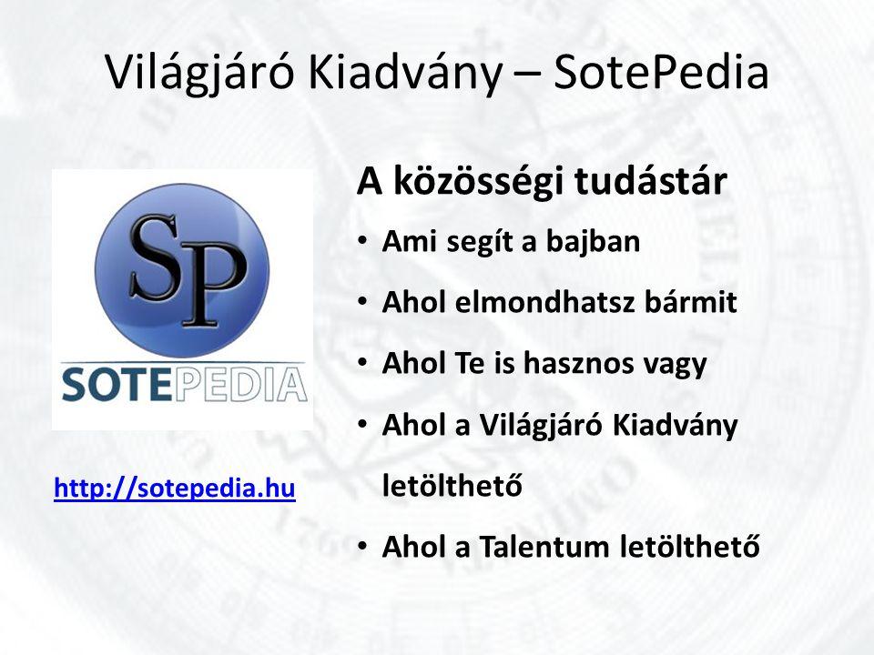 Világjáró Kiadvány – SotePedia