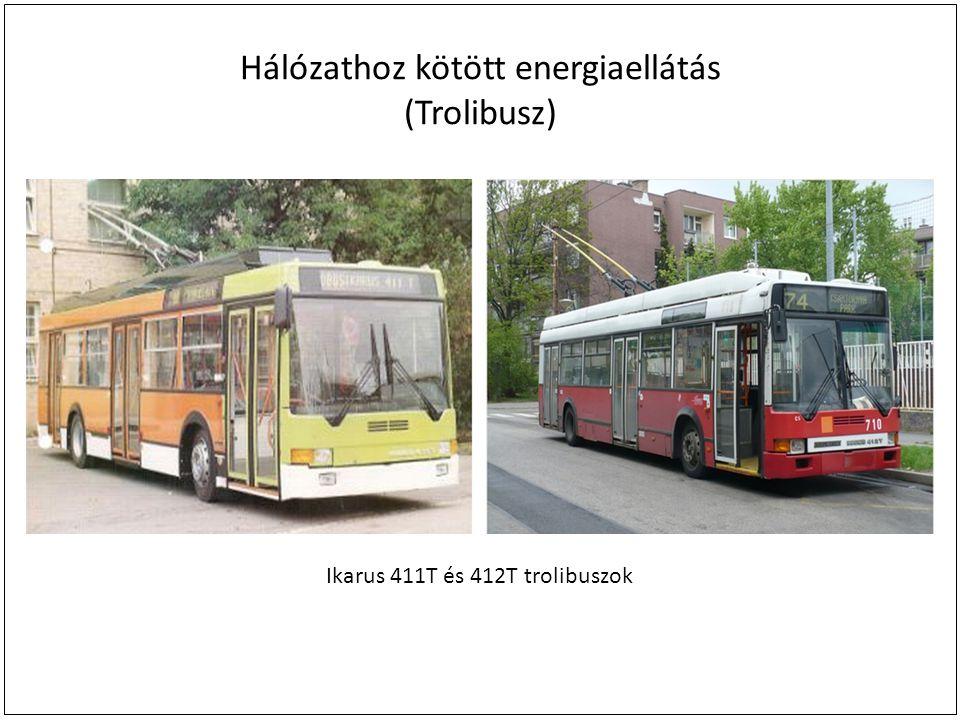 Hálózathoz kötött energiaellátás (Trolibusz)