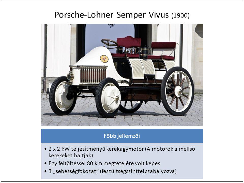 Porsche-Lohner Semper Vivus (1900)