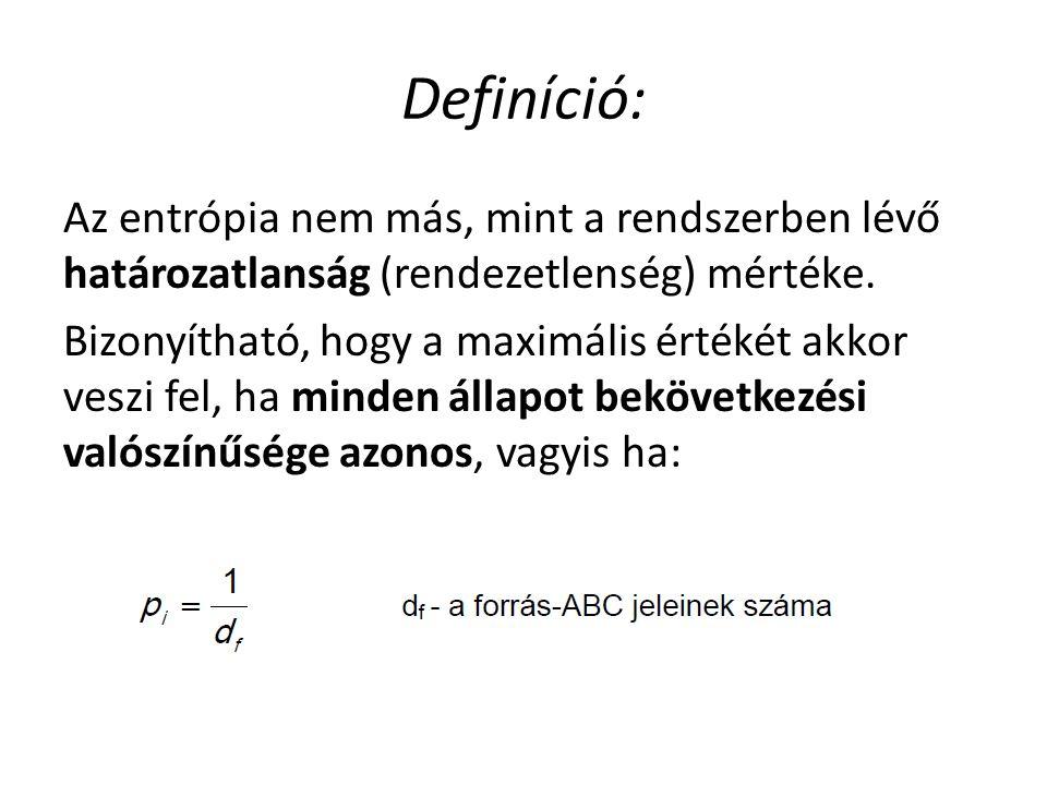 Definíció: