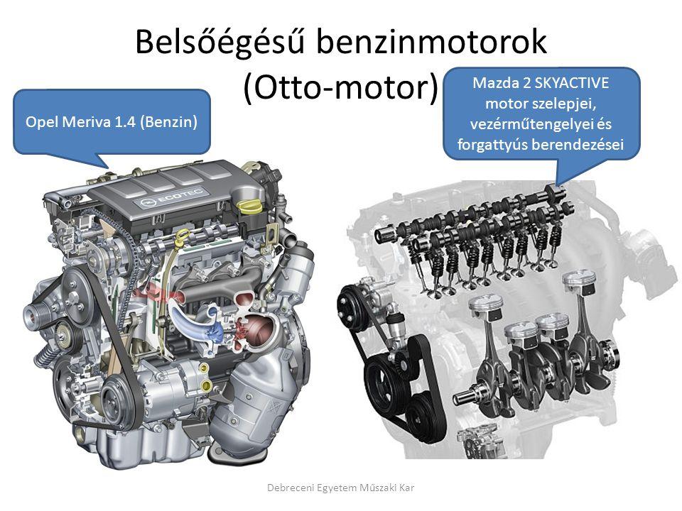 Belsőégésű benzinmotorok (Otto-motor)