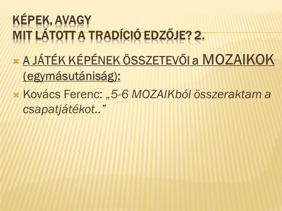 KÉPEK, avagy MIT LÁTOTT A TRADÍCIÓ EDZŐJE 2.