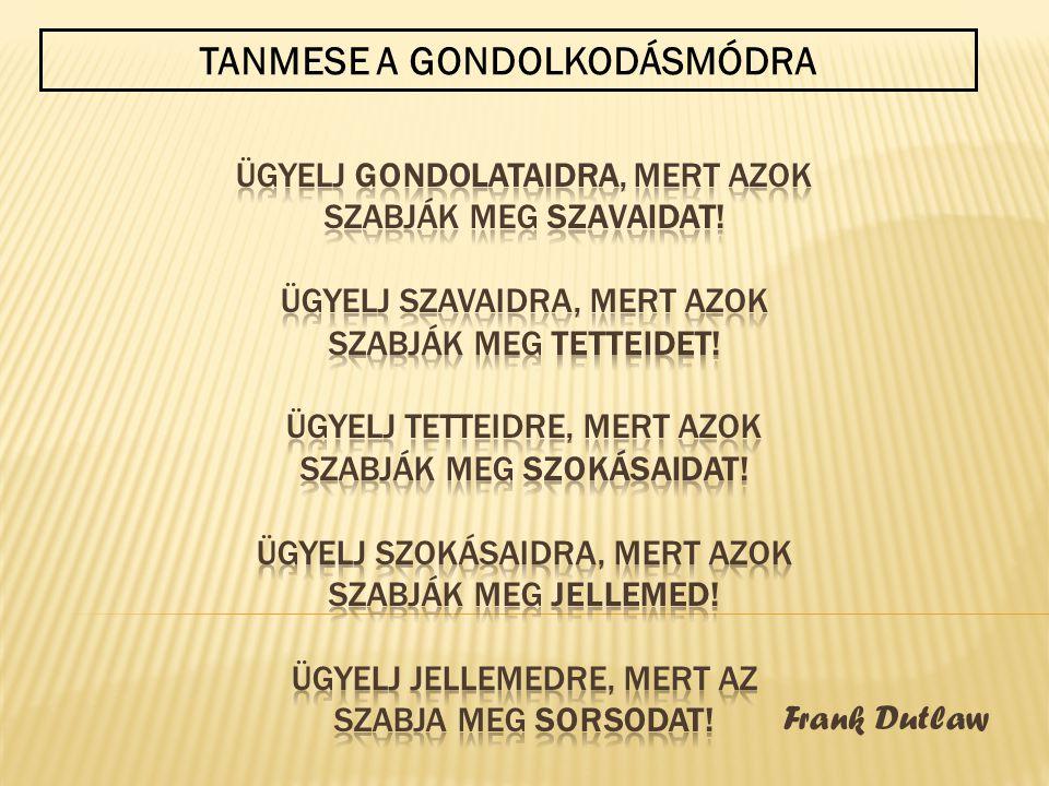 TANMESE A GONDOLKODÁSMÓDRA
