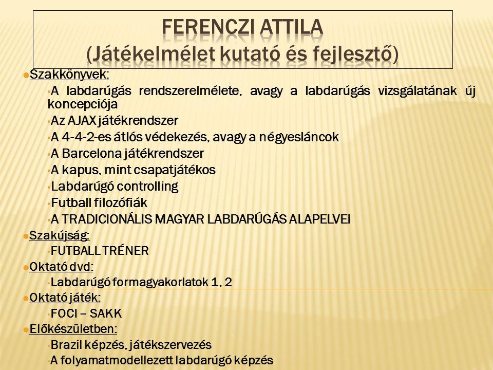 Ferenczi Attila (Játékelmélet kutató és fejlesztő)