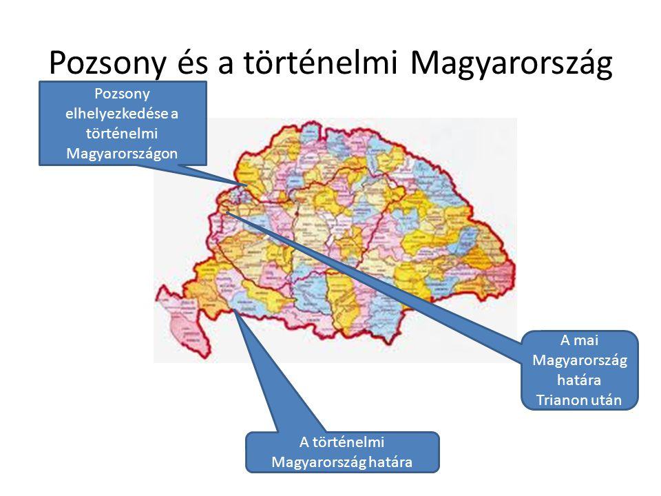 Pozsony és a történelmi Magyarország
