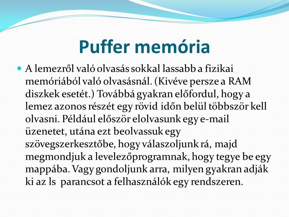 Puffer memória