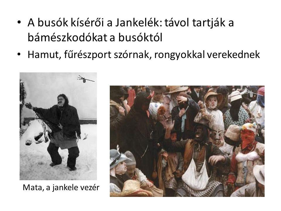 A busók kísérői a Jankelék: távol tartják a bámészkodókat a busóktól