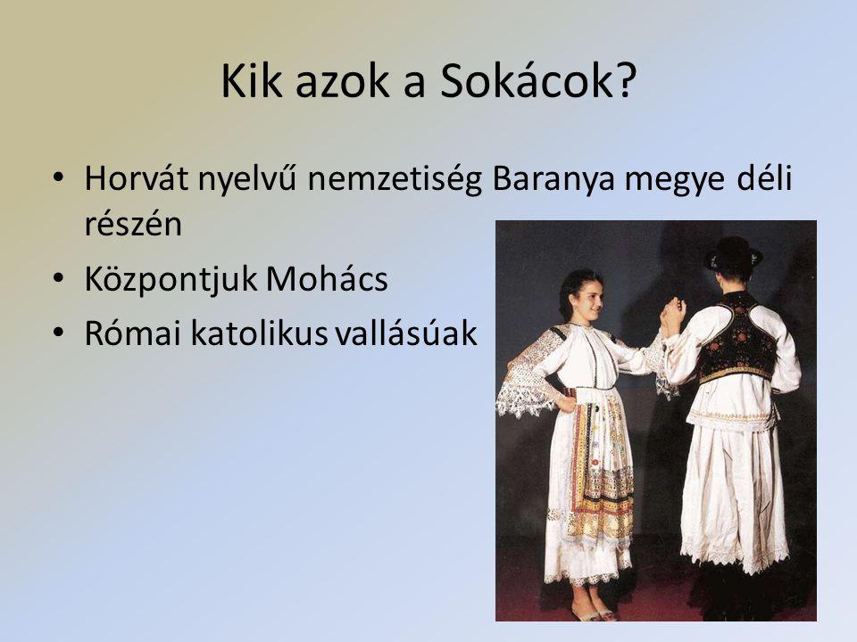 Kik azok a Sokácok Horvát nyelvű nemzetiség Baranya megye déli részén