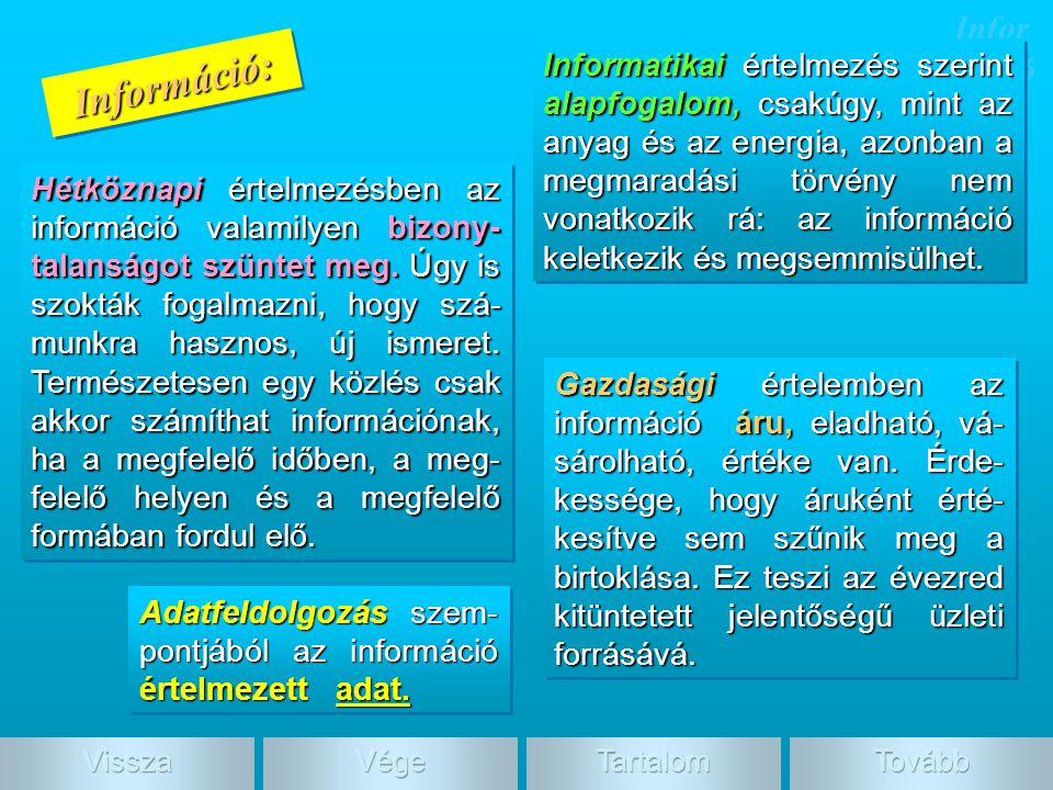 Információ: Információ