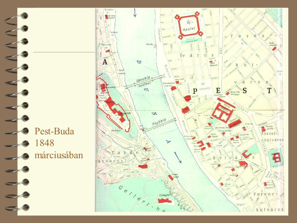 Pest-Buda 1848 márciusában