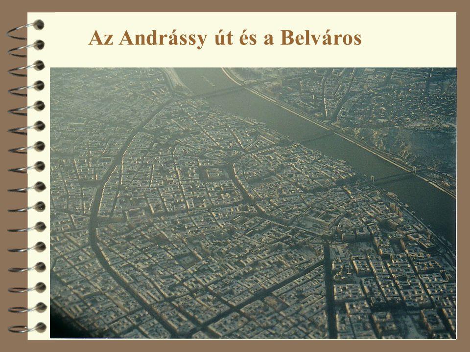 Az Andrássy út és a Belváros
