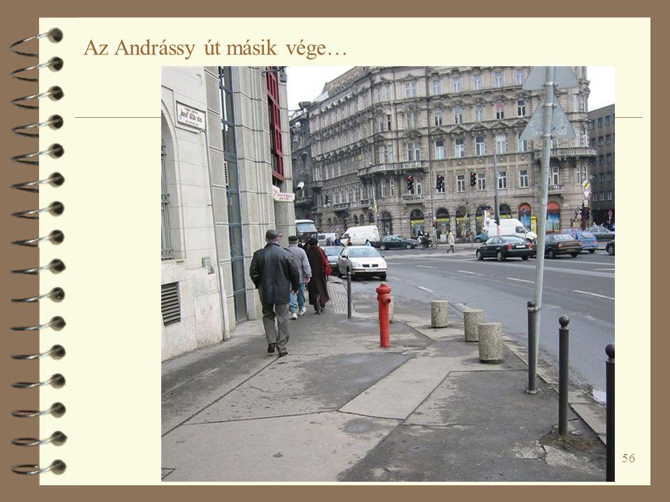 Az Andrássy út másik vége…