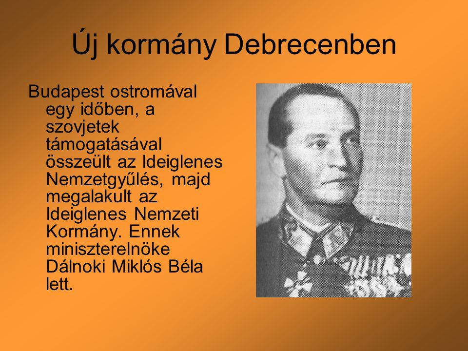 Új kormány Debrecenben