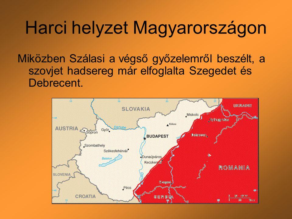 Harci helyzet Magyarországon
