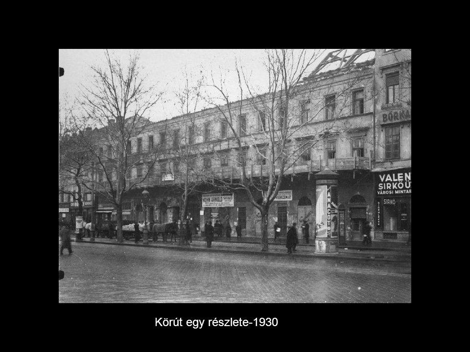 Körút egy részlete-1930