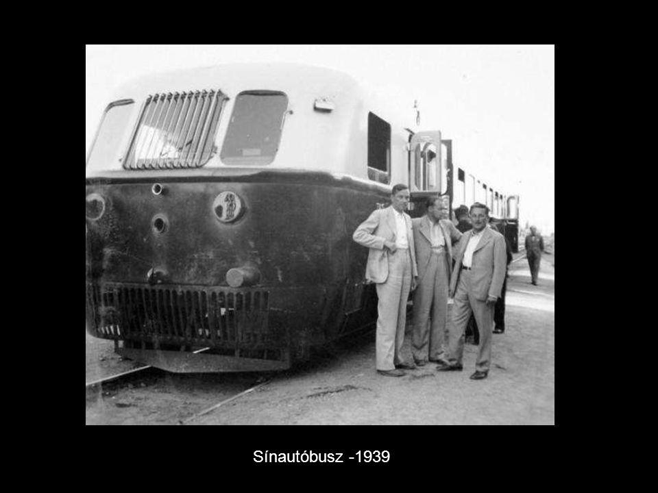 Sínautóbusz -1939