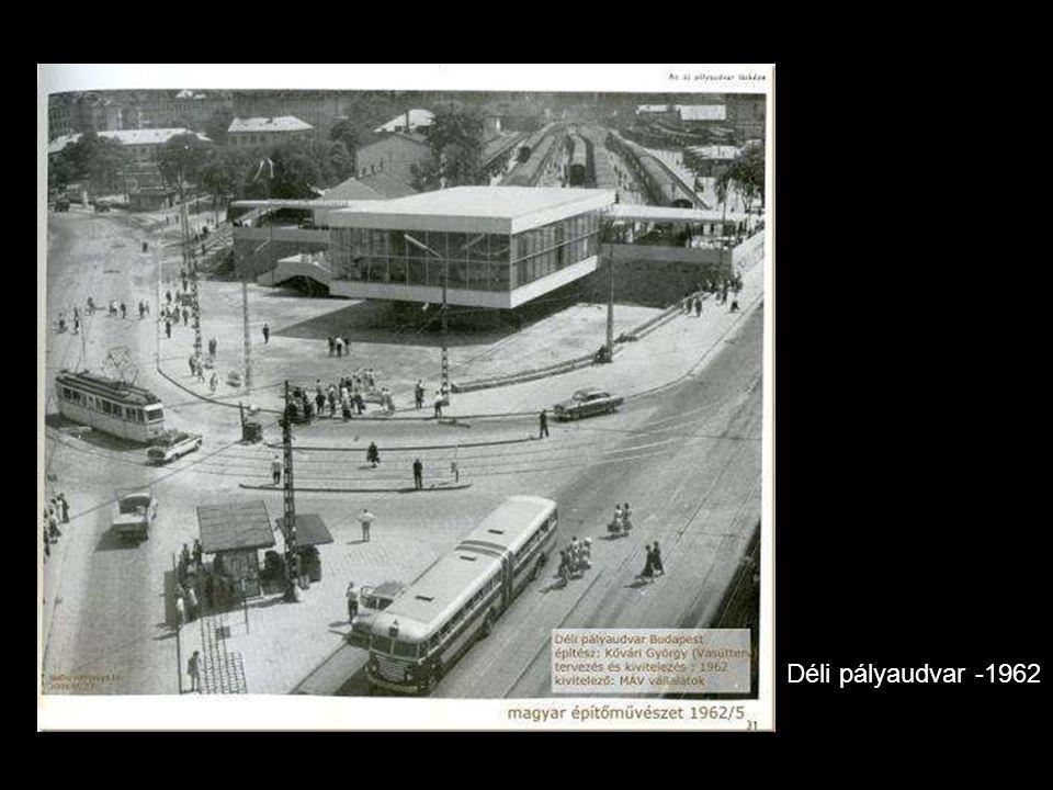 Déli pályaudvar -1962