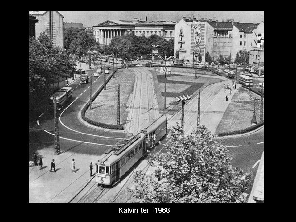 Kálvin tér -1968