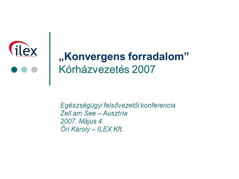 """""""Konvergens forradalom Kórházvezetés 2007"""