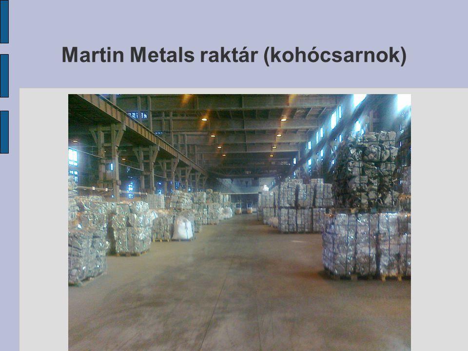 Martin Metals raktár (kohócsarnok)