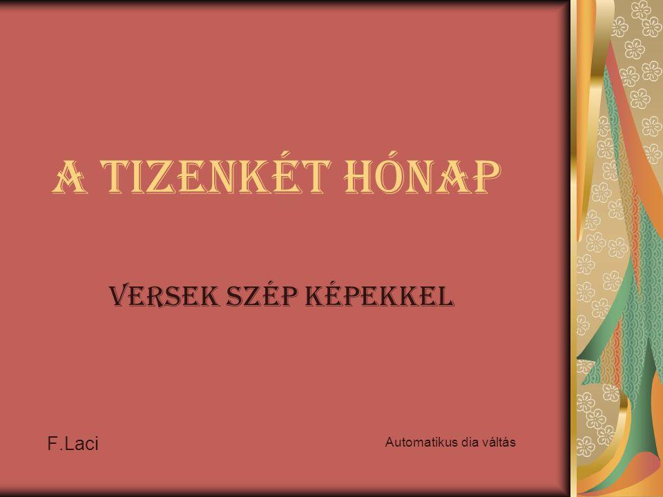 A tizenkét hónap Versek szép képekkel F.Laci Automatikus dia váltás