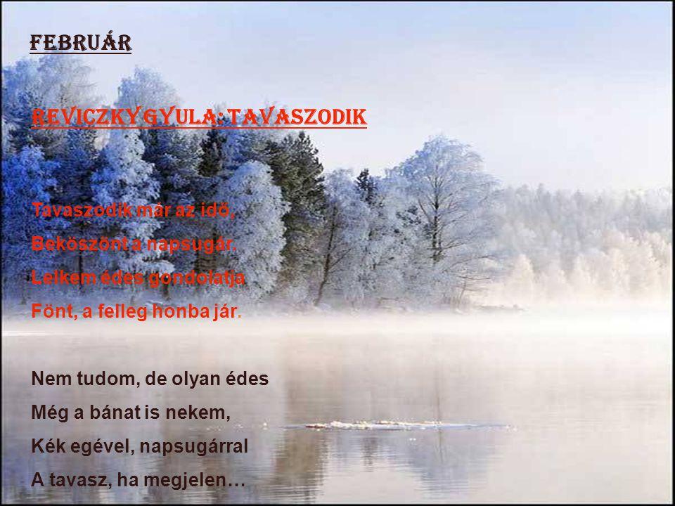 Reviczky Gyula: Tavaszodik