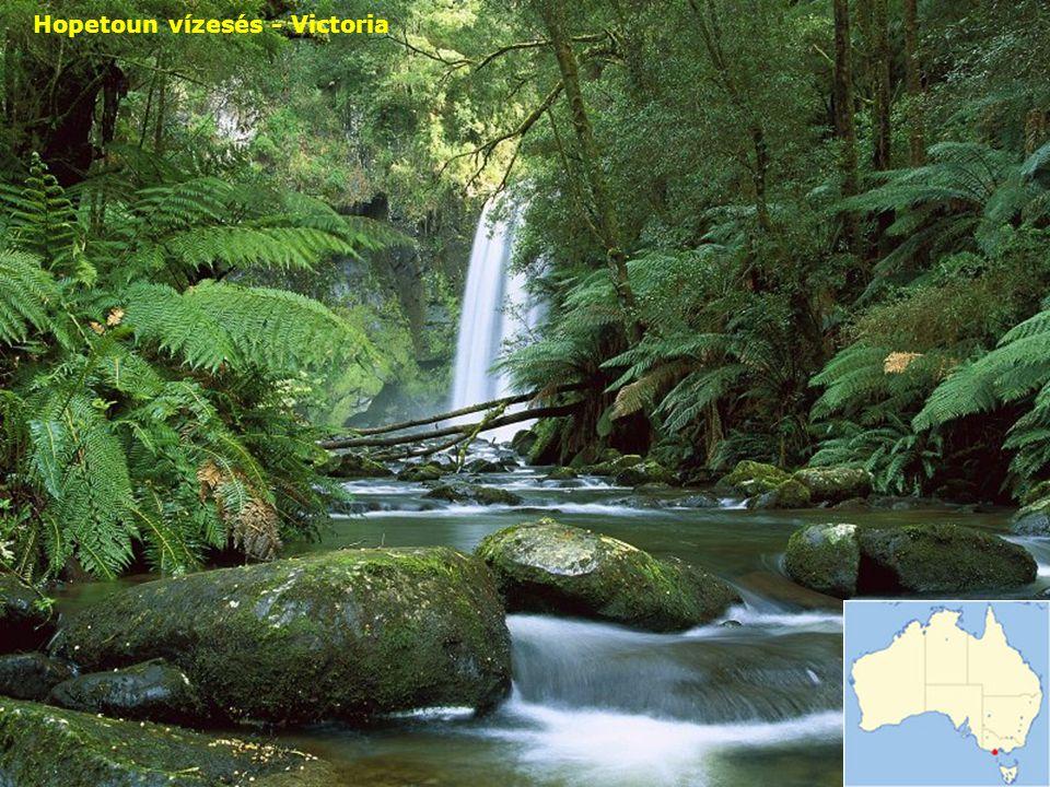 Hopetoun vízesés - Victoria
