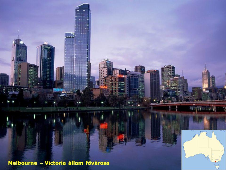 Melbourne – Victoria állam fővárosa
