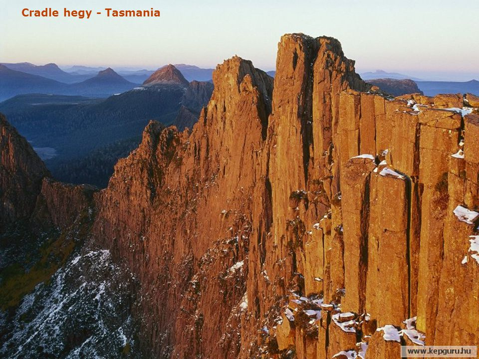 Cradle hegy - Tasmania
