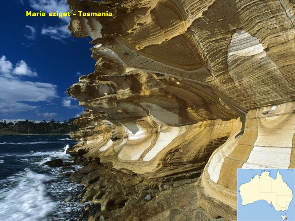 Maria sziget - Tasmania