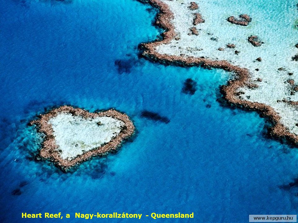 Heart Reef, a Nagy-korallzátony - Queensland