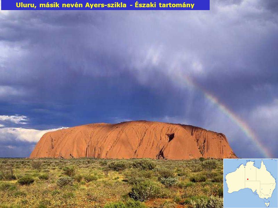 Uluru, másik nevén Ayers-szikla - Északi tartomány