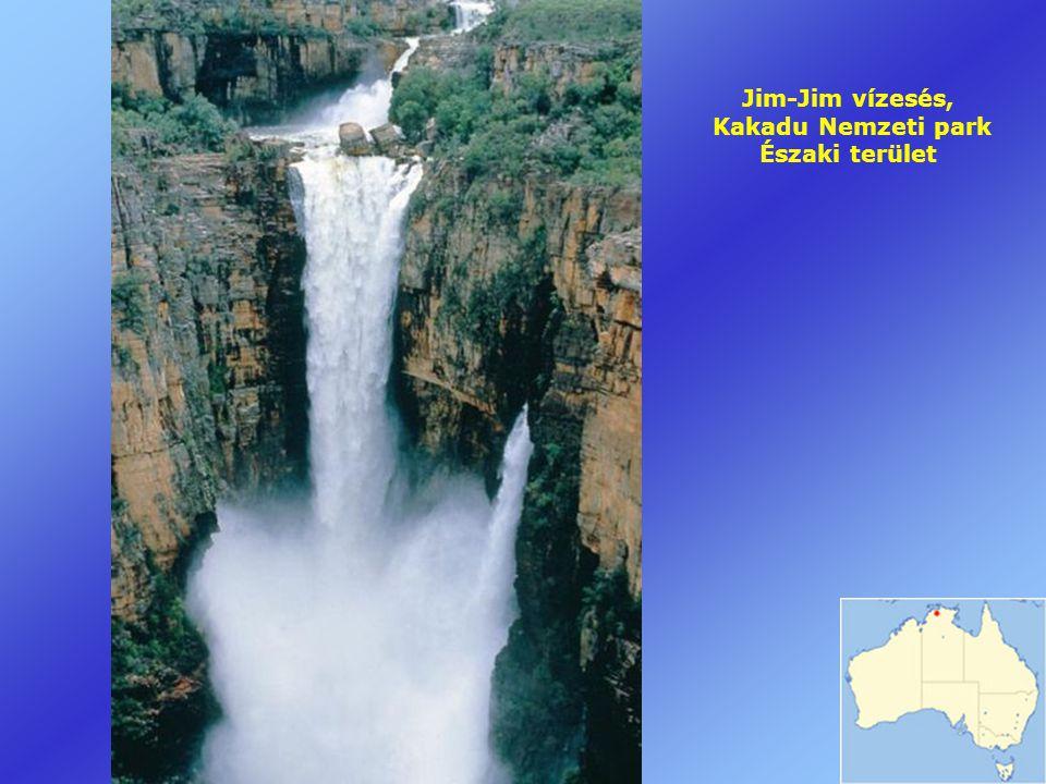Jim-Jim vízesés, Kakadu Nemzeti park Északi terület