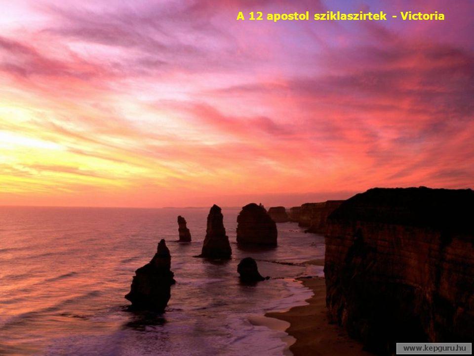 A 12 apostol sziklaszirtek - Victoria