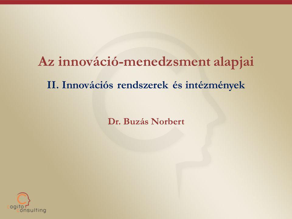 Az innováció-menedzsment alapjai II