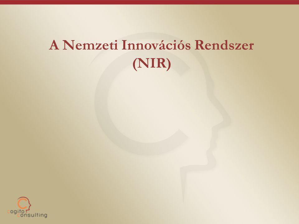A Nemzeti Innovációs Rendszer (NIR)