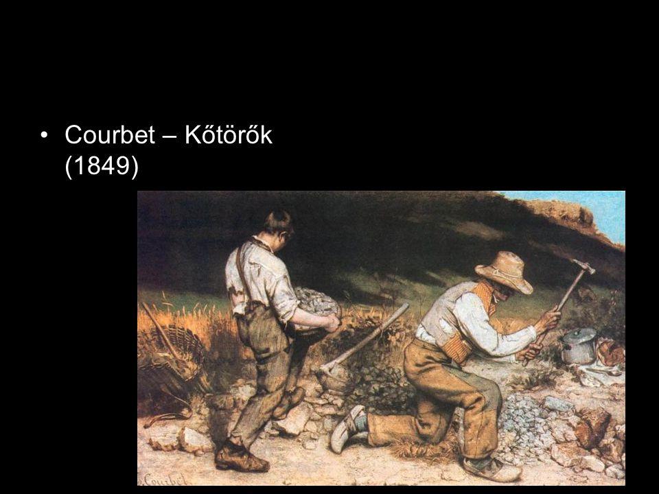 Courbet – Kőtörők (1849)