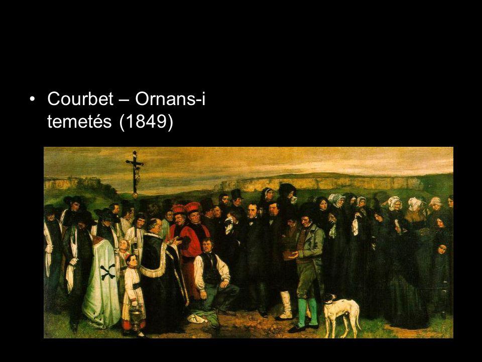 Courbet – Ornans-i temetés (1849)