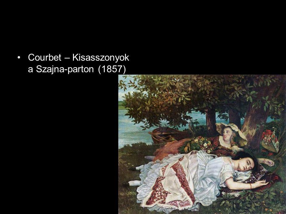 Courbet – Kisasszonyok a Szajna-parton (1857)