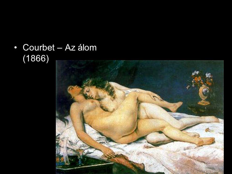 Courbet – Az álom (1866)