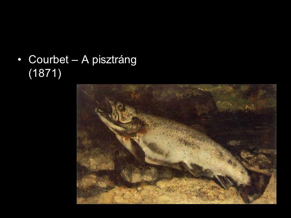Courbet – A pisztráng (1871)