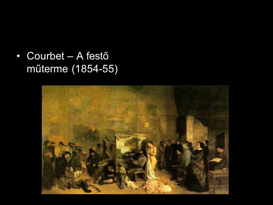 Courbet – A festő műterme (1854-55)