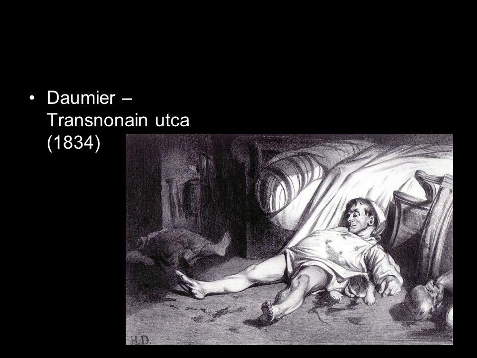 Daumier – Transnonain utca (1834)