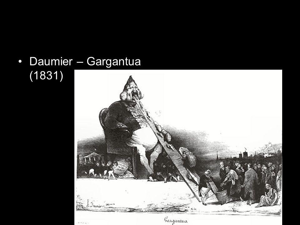 Daumier – Gargantua (1831)