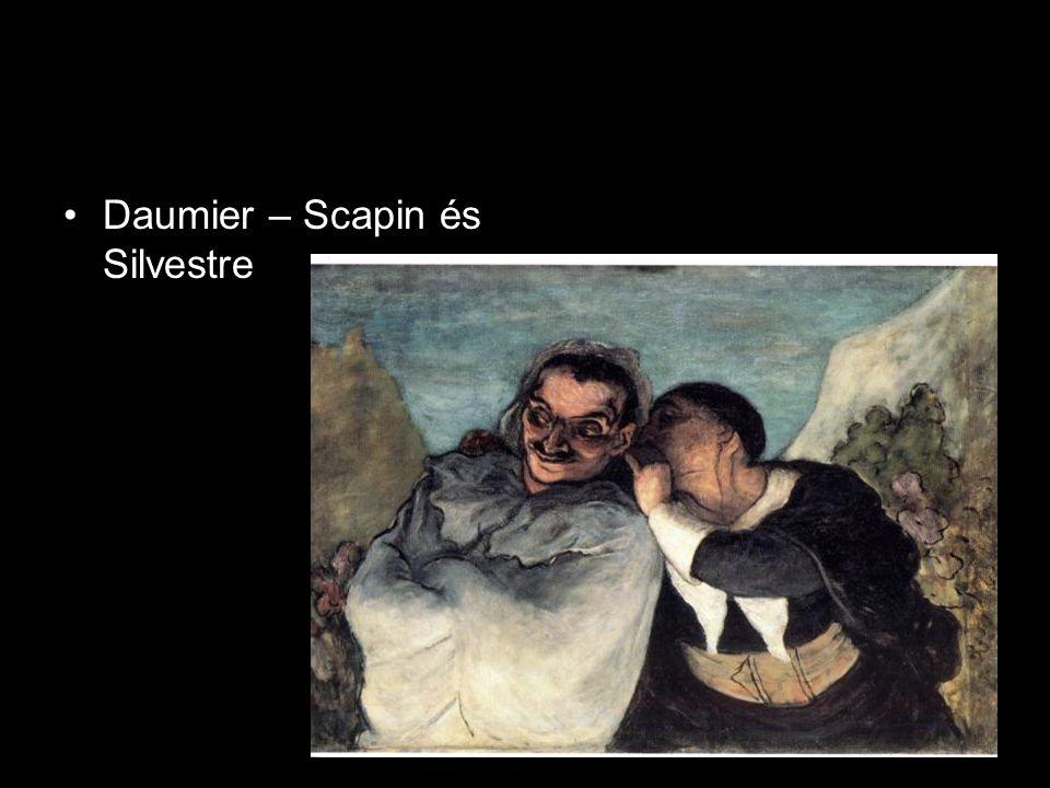 Daumier – Scapin és Silvestre