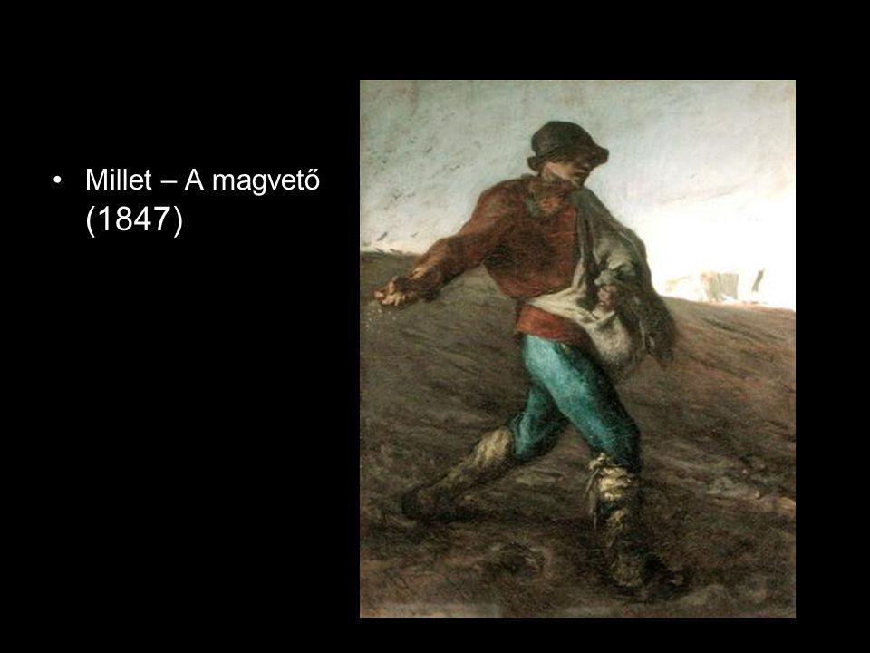 Millet – A magvető (1847)